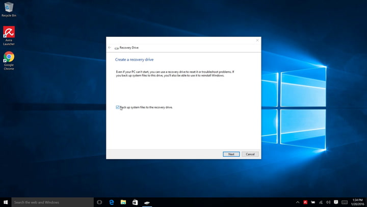 How You Build Your Windows 10 Rescue Medium Yourself